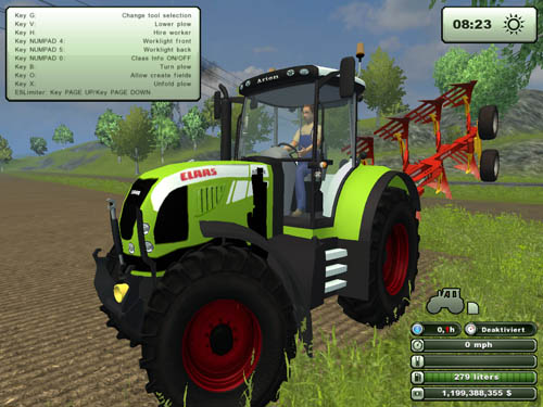 cClaas Arion640sgmods