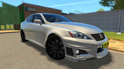 lexus is-f – 1.2.5 city car driving – simulator games mods download