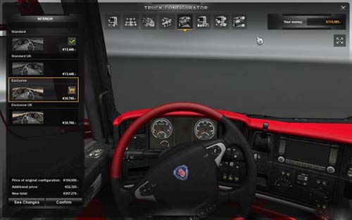 Scania_Red_Black_Leather_interior