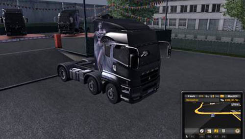Mitsubishi Fuso Truck [ETS 2] | Simulator Games Mods Download