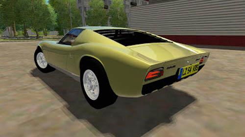 Lamborghini Miura P400 - 1 2 5 City Car Driving | Simulator