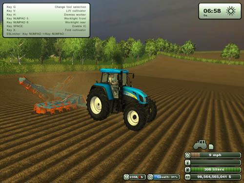 Agrifarm Tillage Set Cultivator + Plow 2