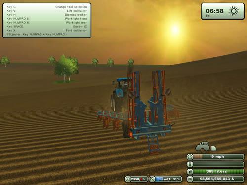 Agrifarm Tillage Set Cultivator + Plow 3