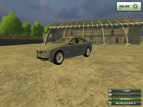 BMW 750 LI 2011 Version 1