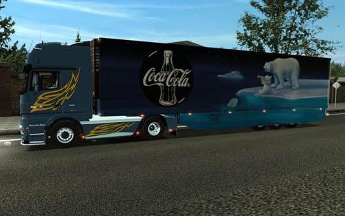 Coca-cola-aerotrailer