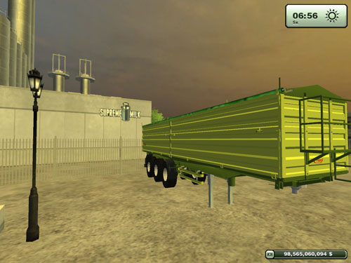 Fliegl 3 Axles Trailer 2