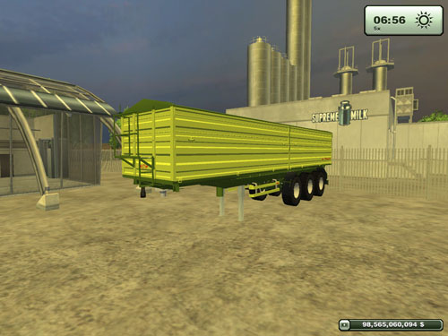 Fliegl 3 Axles Trailer 3