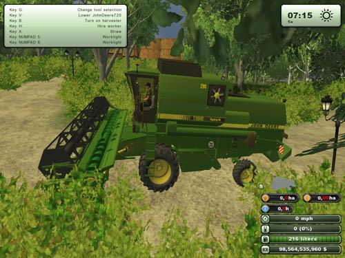 John Deere 1188 Harvester Pack 2