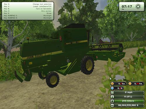 John Deere 1188 Harvester Pack