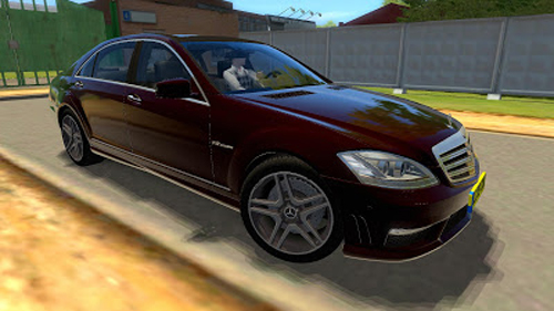 Mercedes Benz S65 Amg 1 2 5 City Car Driving Simulator Games Mods Download