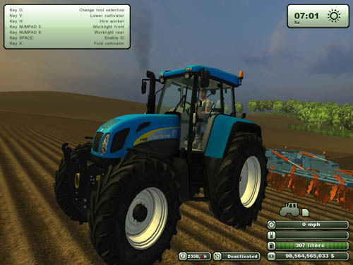 New Holland T7550 1