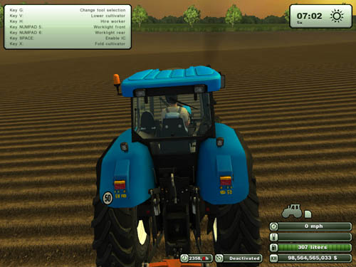 New Holland T7550 3