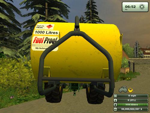 Diesel Tank FulProof 3 Points 2