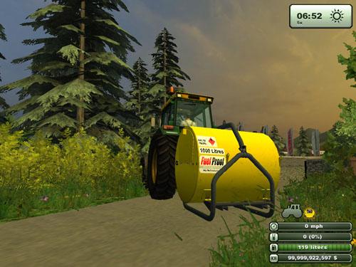 Diesel Tank FulProof 3 Points 3