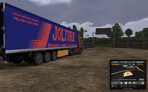 Jolivan Transport Trailer