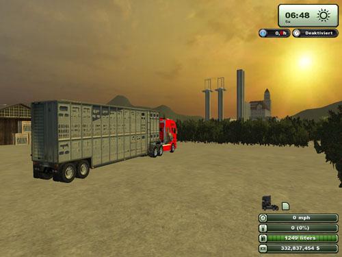 Livestock trailer2