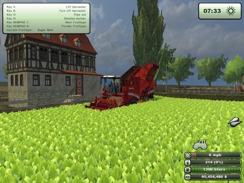 Megatron 50K Multi Fruit Harvester Grimme