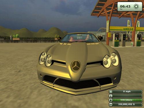 Mercedes Benz SLR1