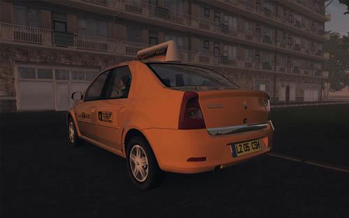 Renault Logan TAXI 1