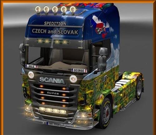 Scania CzSk skin