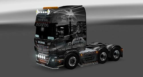 Scania Laurel and Hardy Skin