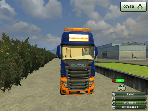 Scania R700  2