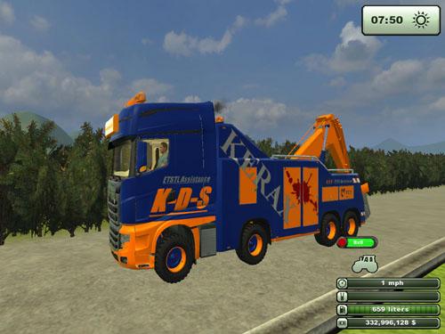 Scania R700  3