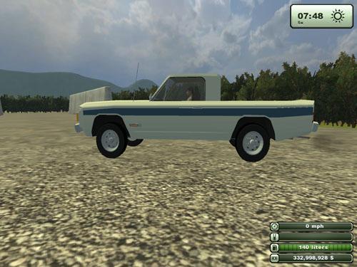 Skylark Farmer PickupTruck 2