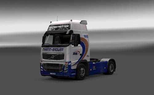 Volvo Carreta Martin Brower Skin