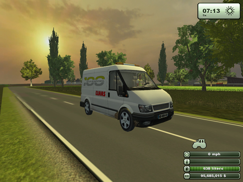 Ford Transit Claas