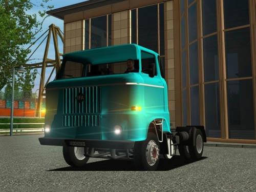 IFA-W50-Sattel