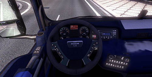 MAN Blue Interior