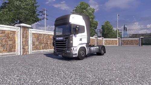 Scania Carbon Preto Skin