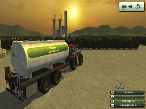 Tandem Diesel Trailer