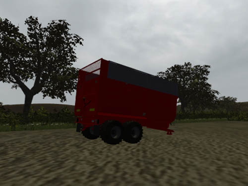 redrock silage trailer