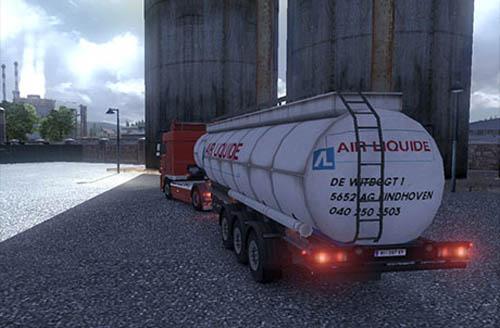 Air Liquide Tanker