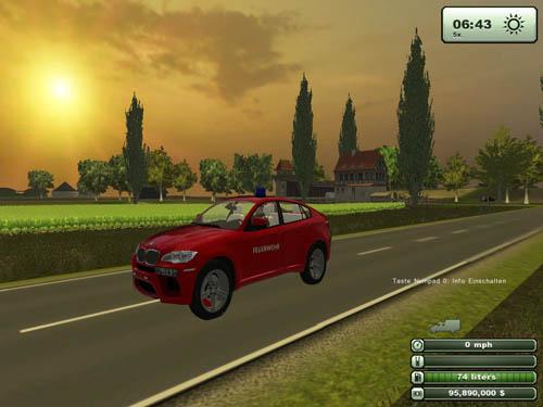 BMWX6MPoliceCar2