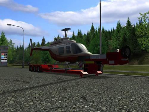 Goldhofer-Helikopter-Trailer