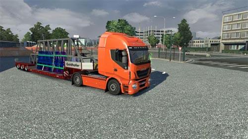 Panel Transporter Trailer