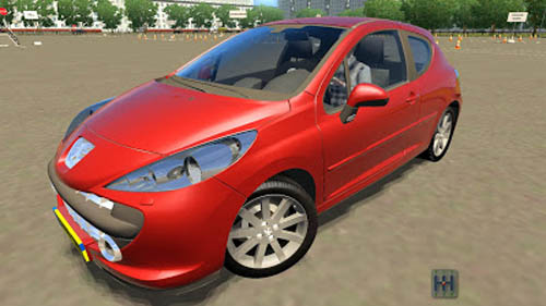 peugeot 207 1 2 5 simulator games mods download. Black Bedroom Furniture Sets. Home Design Ideas