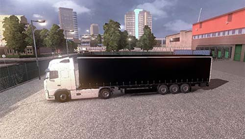Simple Black Trailer
