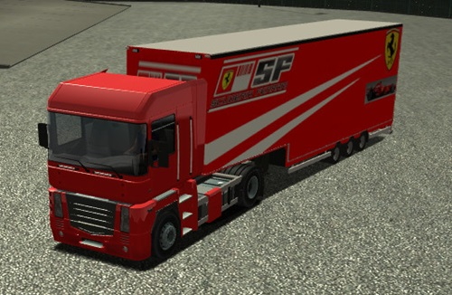 Ferrari-F1-Team-Trailer