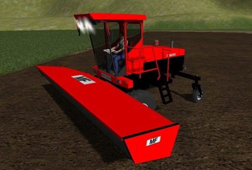 Massey-Ferguson-Swather