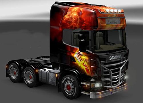Scania-Feuerrock-Skin