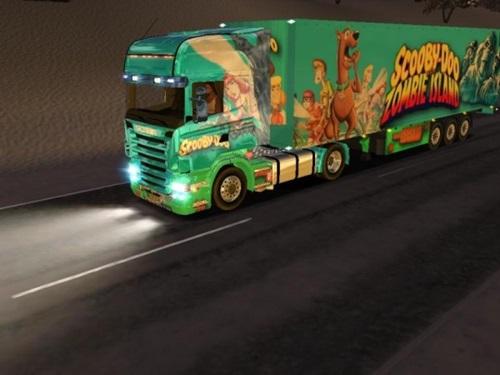 Scania-Scooby-Doo-Zombie-Island-Skin