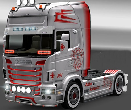 Scania-Vabis-Skin