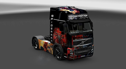 Volvo-Spiderman-Skin