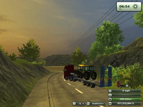 3 Axle Transporter Trailer