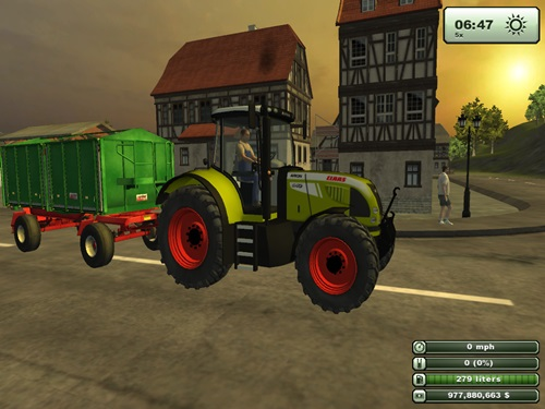 Claas Arion 6402