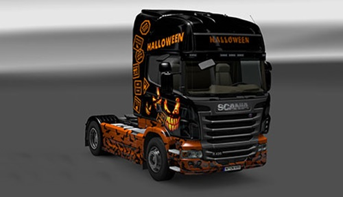 Scania-Happy-Halloween-Skin